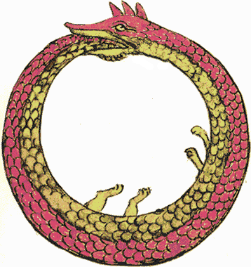 ウロボロスの図