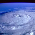 竜巻の写真