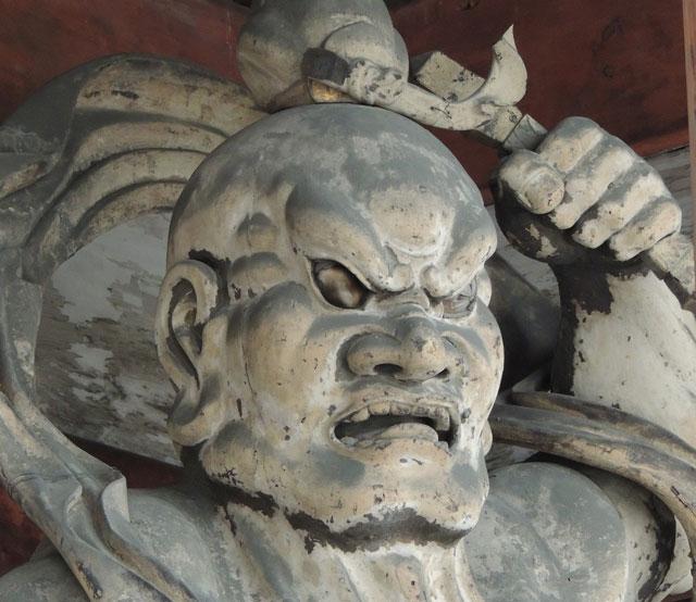 仁王像の写真